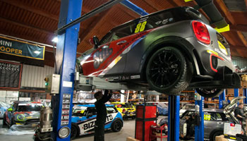 Mini Works independent Mini specialist parts and services in Chichester, Sussex